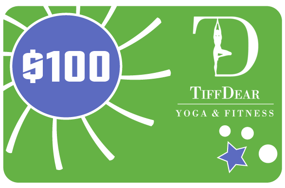 $100 Gift Card for Yoga Classes & Clothing