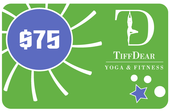 $75 Gift Card for Yoga Classes & Clothing